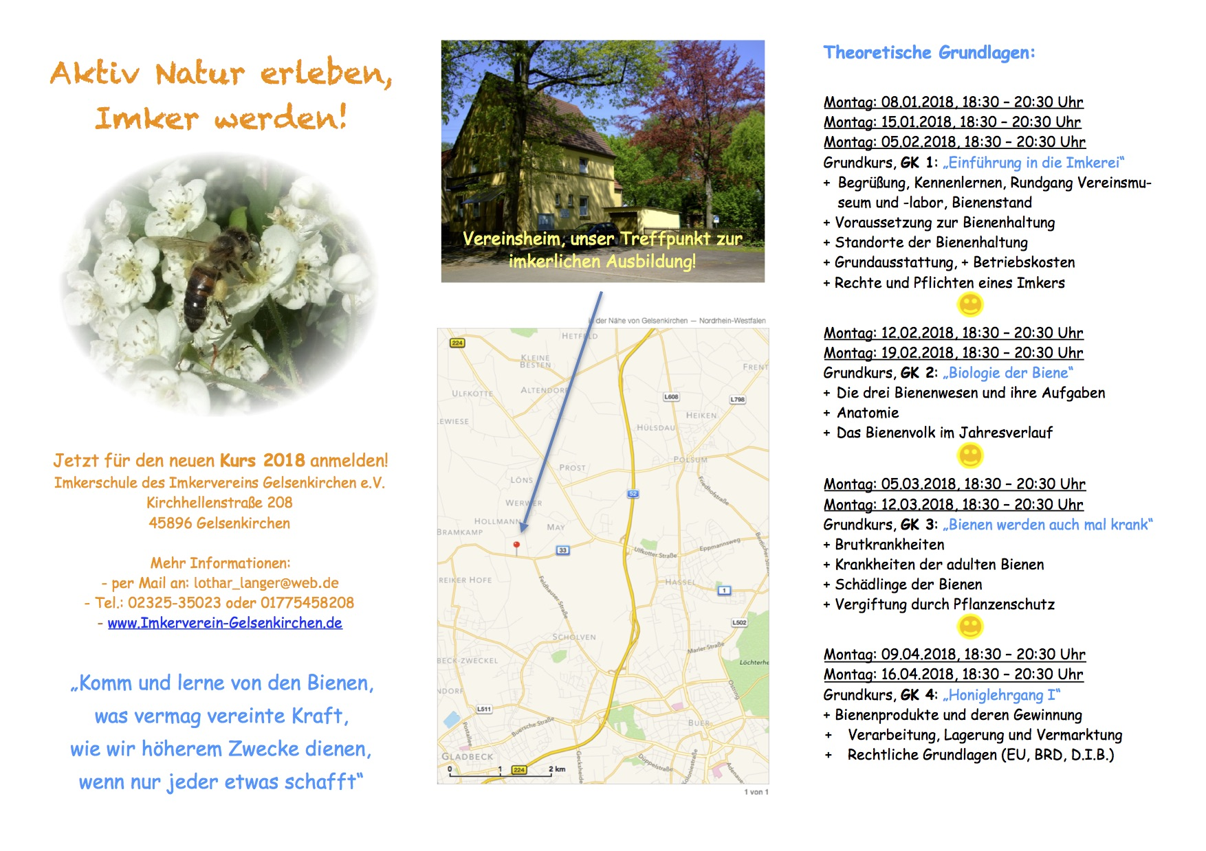Imkerschule - Imkerverein Gelsenkirchen